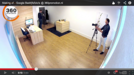 Video: Making of 360promotion Google Businessphoto's