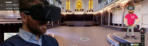 Virtual Reallity i.c.m. 360 Google Business View foto's voor bedrijven.